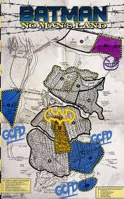 Map Of Gotham City Heroclix U2013 No Man U0027s Land Month 6 Tonight Two Kings Comics