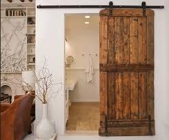Reclaimed Wood Interior Doors Interior Sliding Barn Door Reclaimed Wood Design Interior Home Decor