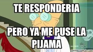 Professor Farnsworth Meme - responderia