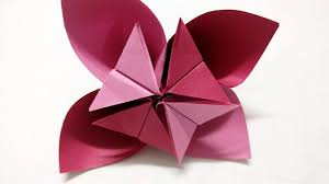 origami flower how to make origami flower for kids craft