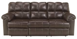 washington chocolate reclining sofa signature design by ashley kennard chocolate reclining sofa with