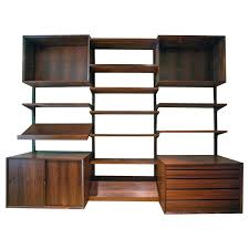 danish rosewood cado wall unit bookcase by poul cadovius