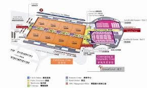 Hong Kong Airport Floor Plan by Guangzhou Diamond Exchange