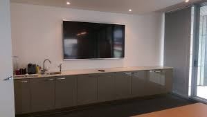 Wall Mounted Tv Height In A Bedroom How To Choose The Right Height For Your Tv Antennify