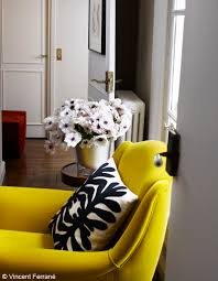 Canape Jaune Moutarde by