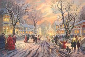 Thomas Kinkade Christmas Tree For Sale by Victorian Christmas Carol A U2013 Limited Edition Art The Thomas