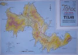 Kefalonia Greece Map by Tilos Islandwalking Com
