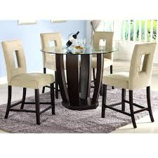 Round Pub Table And Chairs  KIurtjohnsonco - Pub style dining room table