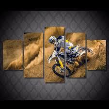 Dirt Cheap Home Decor Online Get Cheap Motocross Wall Posters Aliexpress Com Alibaba