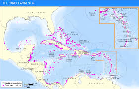 carribbean map the caribbean region resources institute