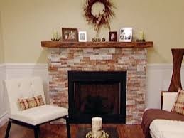 How To Reface A Fireplace by Refacing Fireplace With Stone Video Hgtv