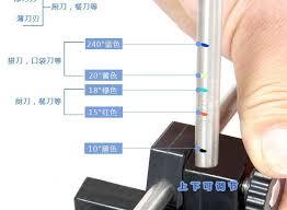 sharpening angle for kitchen knives professional kitchen knife sharpener system fix angle 10sets 1set