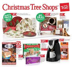 tree shop sale flyer decore