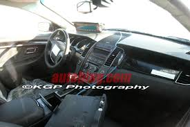Ford Taurus Interior Spy Shots 2010 Ford Taurus Interior Ford Cheers And Gears