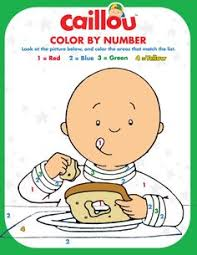 caillou coloring sheet u2013 bunny rabbit fun caillou coloring fun