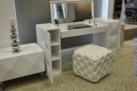white contemporary dressing table modern makeup vanity table bedroom vanities design ideas