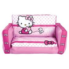 buy hello kitty inflatable flip out sofa from our kids u0027 chairs