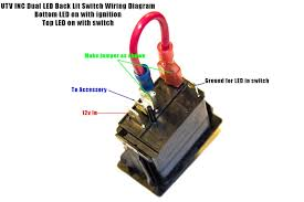 lighted rocker switch 12v rocker switch help kawasaki teryx forum fair lighted toggle wiring