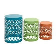 Turquoise Side Table Modern Outdoor Side Tables Allmodern