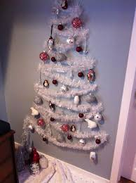 wall christmas tree the no tree christmas tree wall christmas tree small spaces and