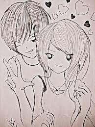 love couples drawing cute love drawings pencil art hd romantic