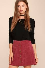 corduroy skirt corduroy skirt a line skirt mini skirt button front