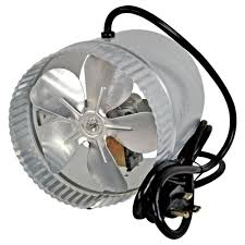 suncourt 6 inline duct fan suncourt 6 in corded duct fan with more powerful motor db6gtc the