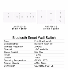 Touch Light Control 110v 220v 230v Ac Wifi Control Smart Home Touch Light Wall Switch