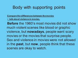 violent movies do you think violence in movies should be allowed