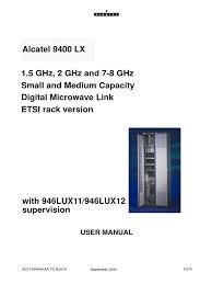 alcatel 9400 lx manual menu electrical engineering