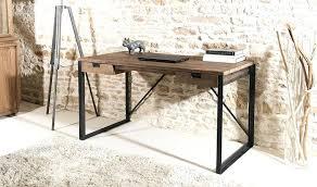 bureau m騁allique industriel bureau metal bois bureau industriel metal fresh bureau en teck et