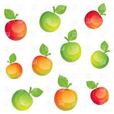 bright cartoon apples vector clipart image 29341 u2013 rfclipart
