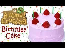 animal crossing birthday cake nerdy nummies animal crossing