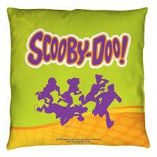 the flintstones gang throw pillow home goods