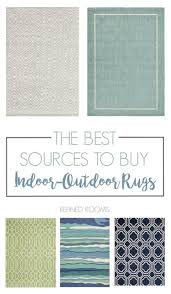 Best Outdoor Rugs Best Sources For Inexpensive Indoor Outdoor Rugs Refined Rooms
