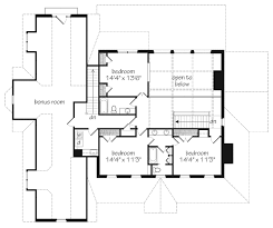 Southern Living Floorplans Abberley Lane John Tee Architect Southern Living House Plans