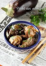 cuisiner avec un rice cooker recette au rice cooker 3 poulet aux aubergines fondantes piment