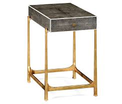 Lamp Tables Shagreen Side Table Shagreen End Table Shagreen Accent Table
