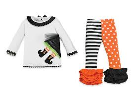 mud pie witch tunic and leggings set