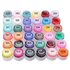 new fashion pure colors gel nail polish uv nail art diy decoration