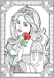 coloring pages princess 168 best coloring pictures images on pinterest drawings