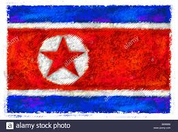 Yap Flag Drawing Of The Flag Of North Korea Stock Photo Royalty Free Image