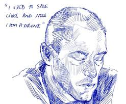 at veteran homeless center sketches of war regret and mistakes