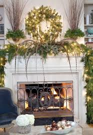 contemporary christmas fireplace mantels home design ideas