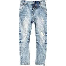boys light blue tie boys light blue slouch tony ripped jeans denim sale boys