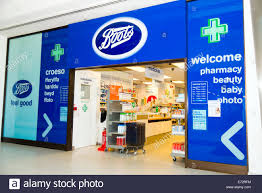 shop boots pharmacy boots chemist shop uk stock photo royalty free image 73206440