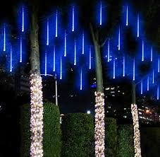 decoration lights for party meteor shower rain tubes led garden party wedding led decoration