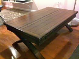 Living Room Pallet Table Furniture Fold Out Coffee Table Ideas Brown Rectangle Industrial