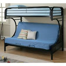 Loft Bed With Futon Coaster C Style Futon Metal Bunk Bed Black