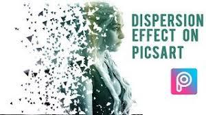 picsart tutorial motion picsart editing tutorial brust dispersion disintegration effect in